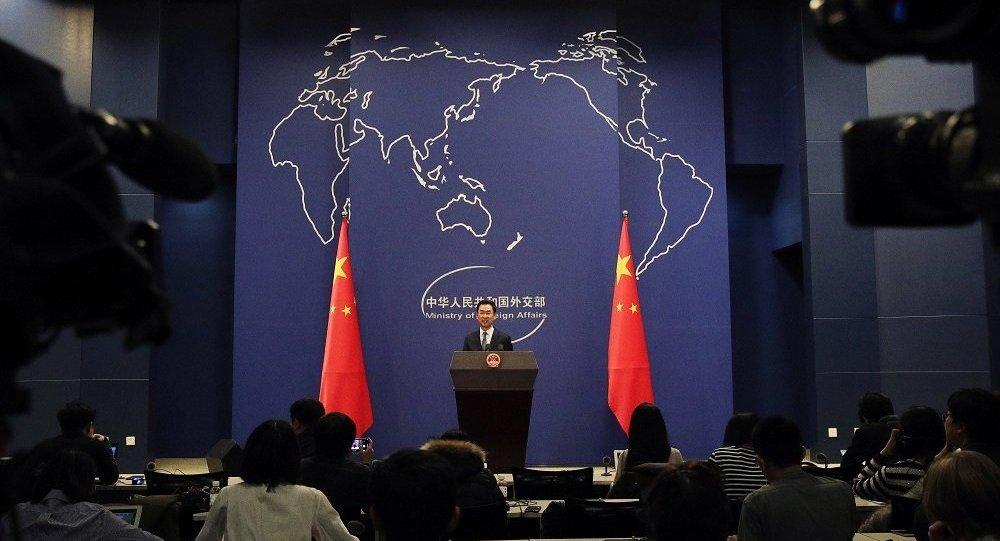 """中国外交部: 美国会""""香港人权与民主法案"""" 玩弄双重标准 干涉中国内政"""
