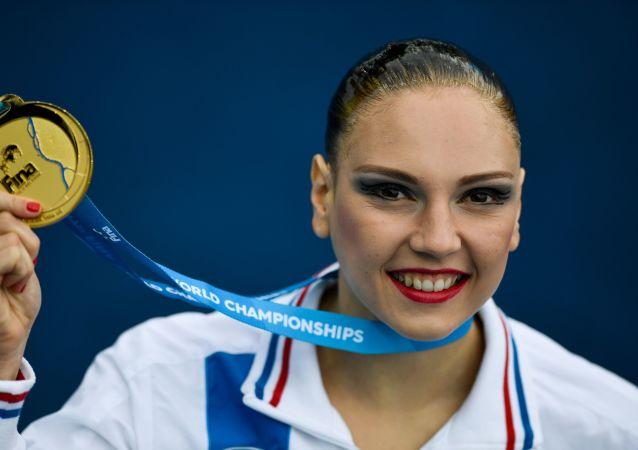 俄罗斯奥运花游冠军斯韦特兰娜·科列斯尼琴科