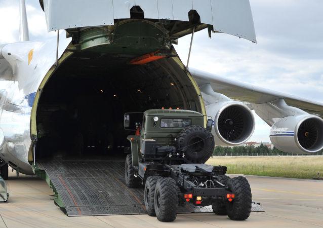 土耳其国防部宣布第十一架运载S-400系统的飞机抵达