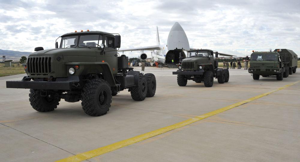 土耳其国防部:第七架装有俄S-400系统组件的飞机抵达安卡拉