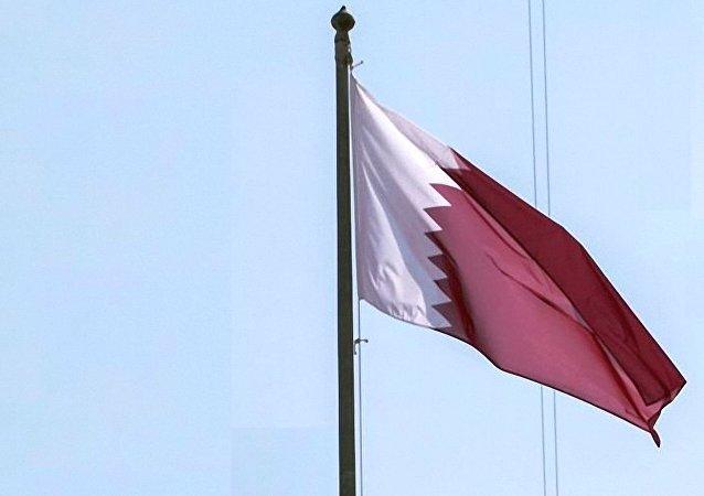 卡塔尔国旗