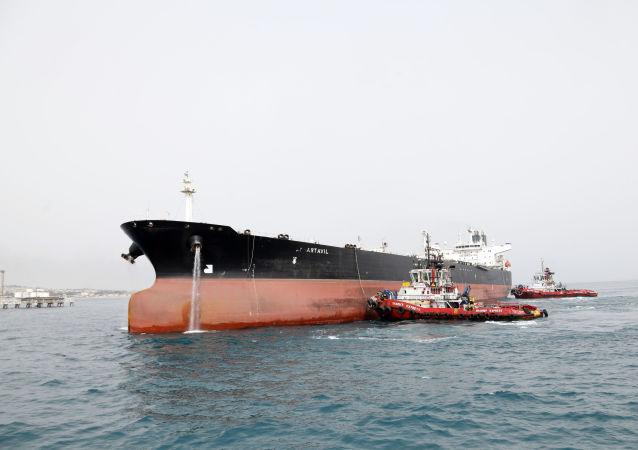 伊朗油船(资料图片)