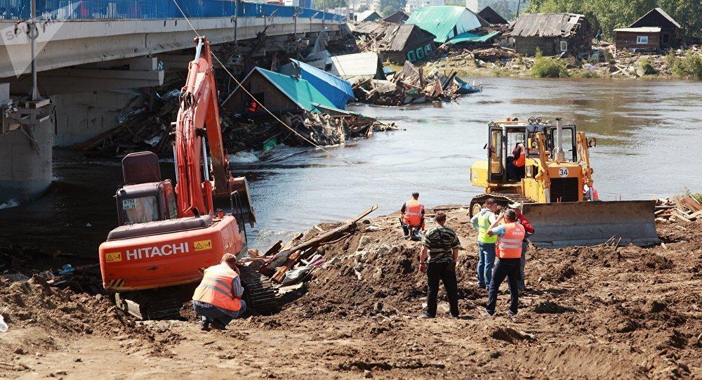 俄紧急情况部:伊尔库茨克州河水水位未超临界值