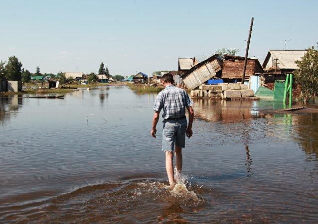 伊尔库茨克州洪水后住院人数达到754人