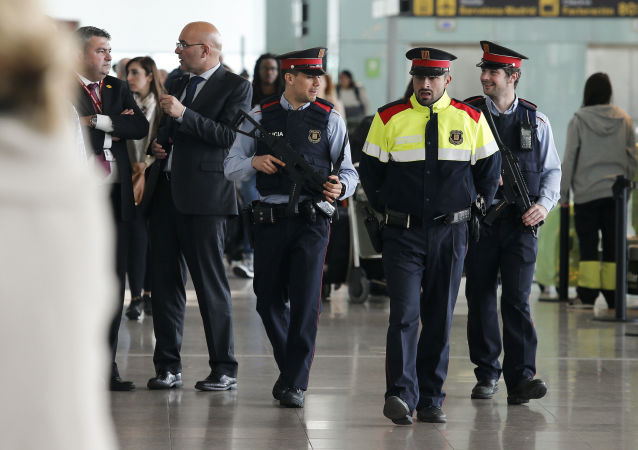 巴塞罗那警察