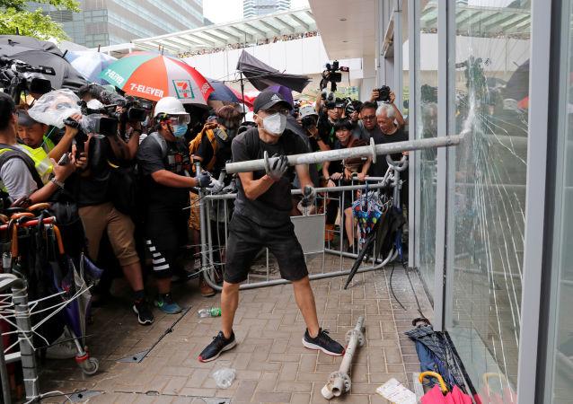 媒体:中国正在制定香港问题应急计划