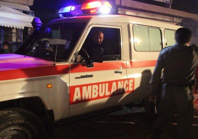阿富汗救护车