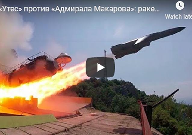 俄发布黑海导弹射击演练视频