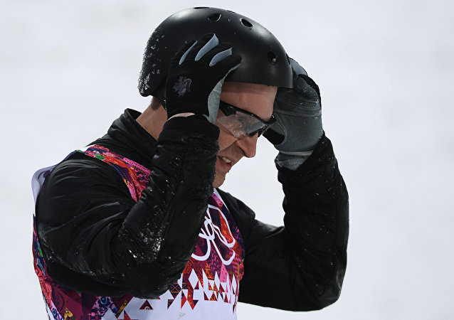 白俄罗斯运动员阿列克谢·格里申