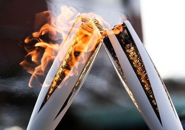 2020东京奥运会火炬在传递首日熄灭