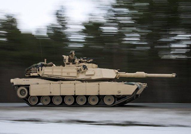 M1艾布拉姆斯坦克(资料图片)