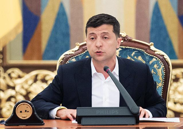 乌克兰总统希望在近期举行诺曼底模式谈判