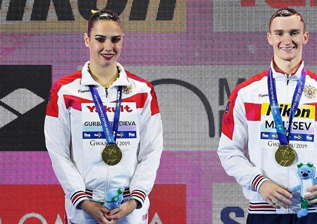 迈亚·古尔邦别尔季耶夫和亚历山大·马尔采夫