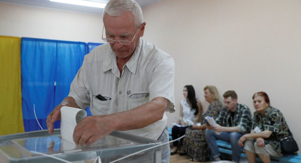 五个政党将进入乌克兰最高拉达