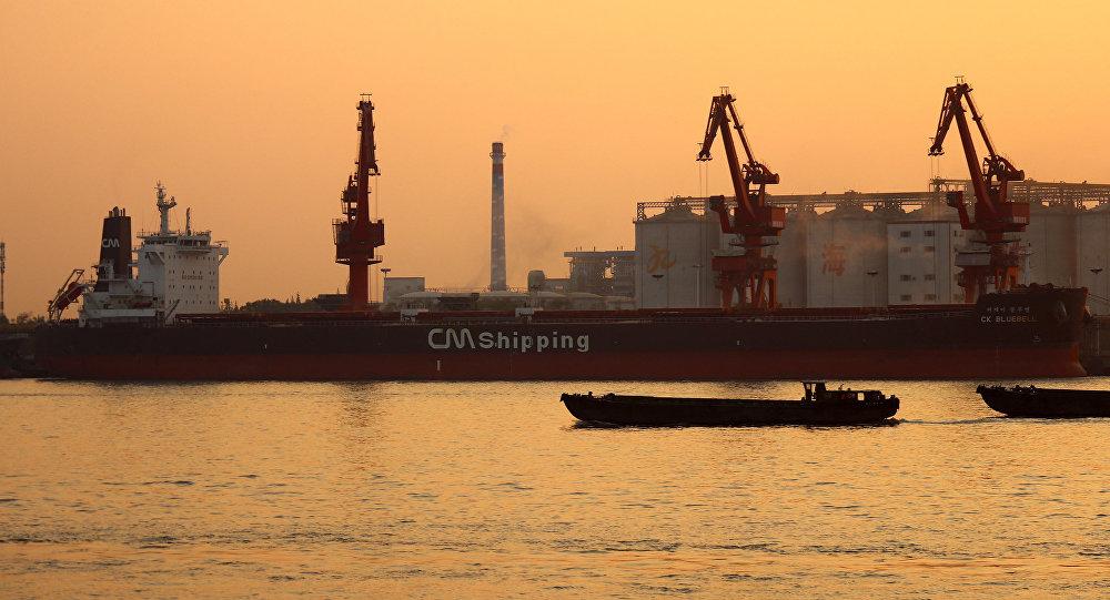 韩国CK Bluebell号货船