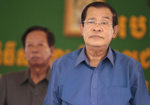 柬埔寨首相洪森