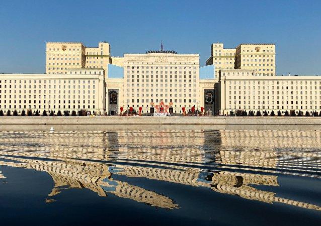 Здание Министерства обороны РФ.