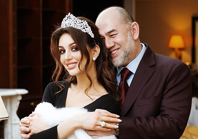 前马来西亚国王对与莫斯科小姐的婚姻表示遗憾