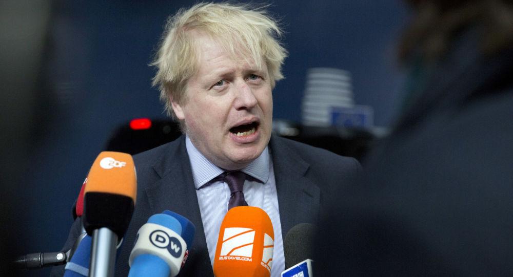 英国前外交大臣、伦敦前市长鲍里斯・约翰逊:就职英国首相,英国前外交大臣,伦敦前市长,鲍里斯・约翰逊,英国首相