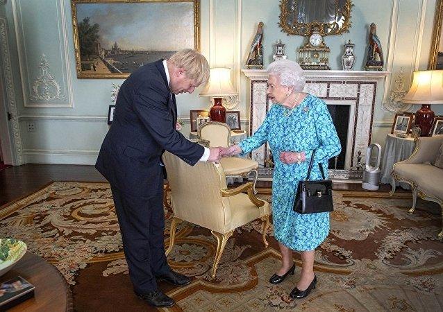 鲍里斯·约翰逊就职英国首相
