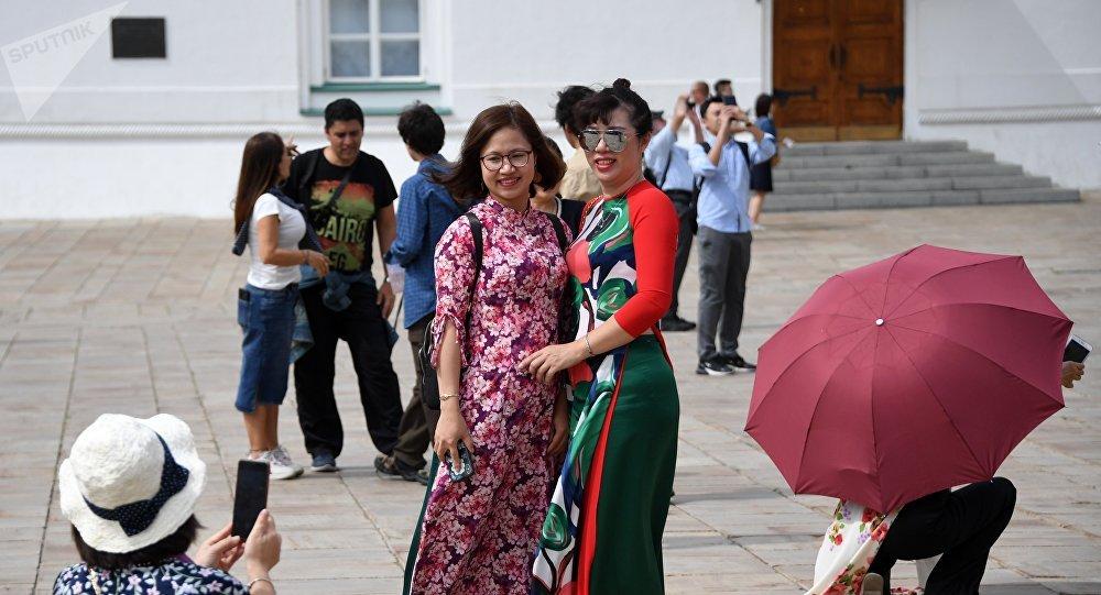 中国游客,克里姆林宫