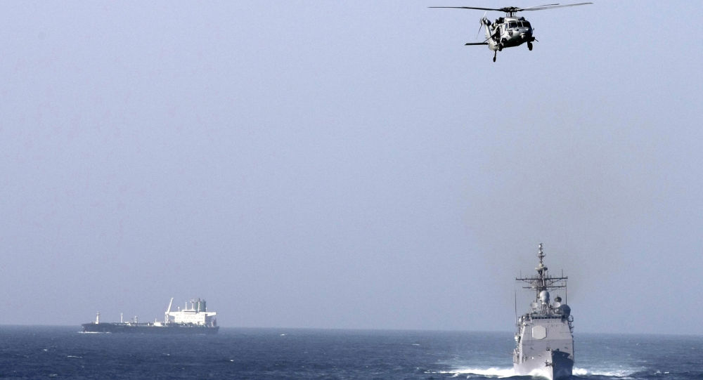 蓬佩奥:美国将确保霍尔木兹海峡通航畅通