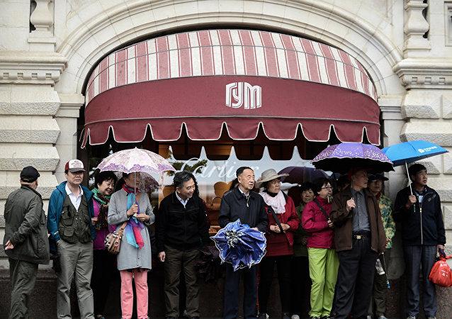 国家百货商场(GUM)——很受中国游客欢迎的购物场所
