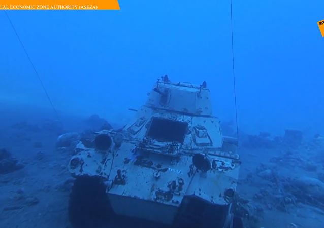 约旦建水下军事博物馆
