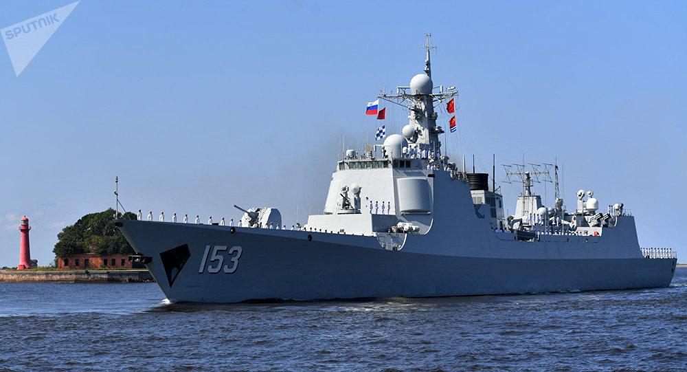俄罗斯海军节:外国伙伴参加阅兵