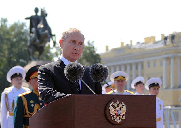 普京:俄罗斯军队能够坚决有效地行动