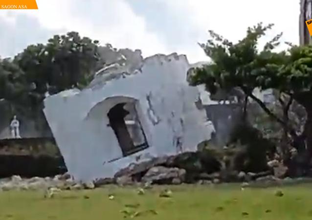 菲律宾北部连发强震  8人遇难60人受伤
