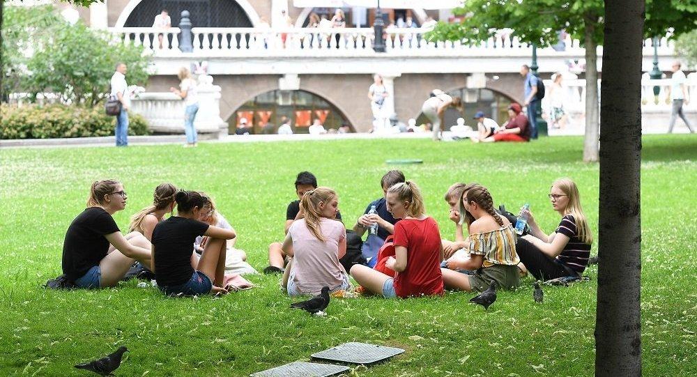 周六成为莫斯科今年七月份最热一天