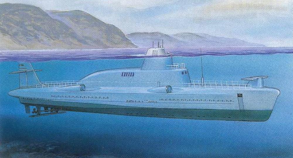 1231型海豚号导弹潜水舰