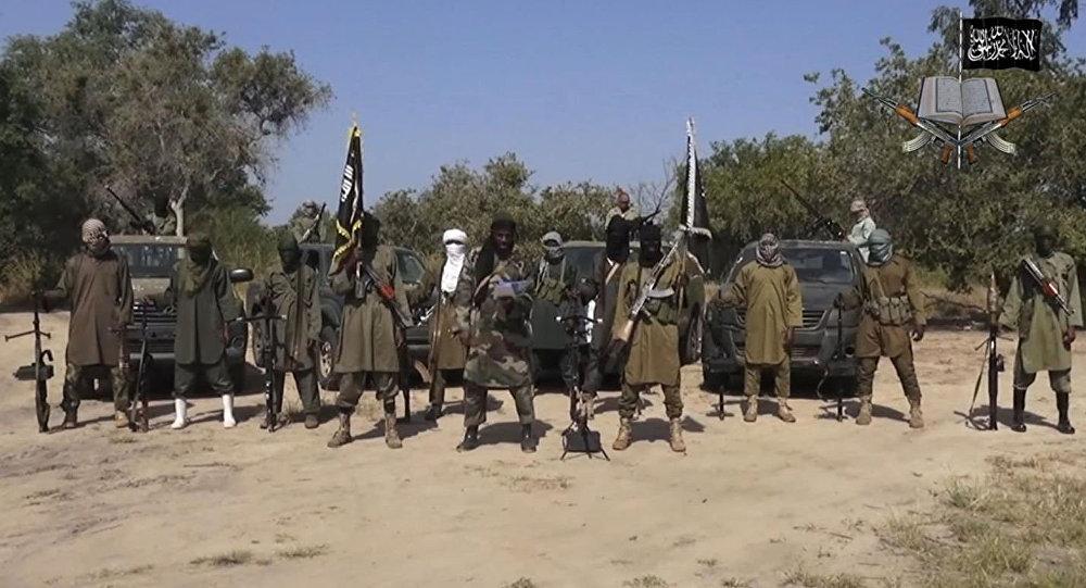 """伊斯兰主义组织""""博科圣地""""武装分子(资料图片)"""
