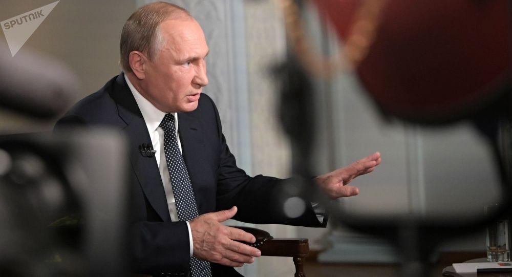普京:20年来俄罗斯变化巨大并在国际事务占有应有地位