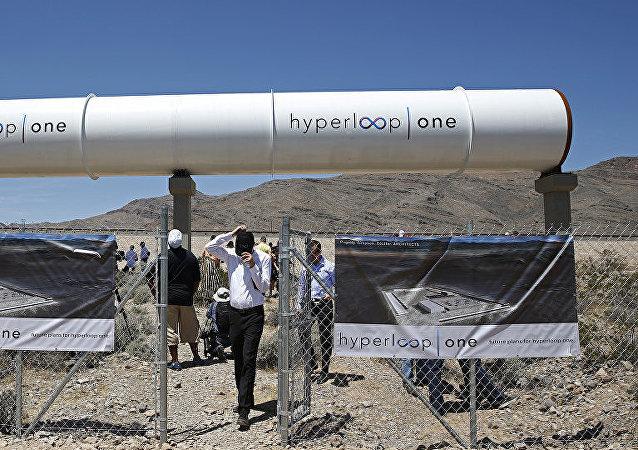 """美国""""维珍超级高铁一号""""(Virgin Hyperloop One)"""