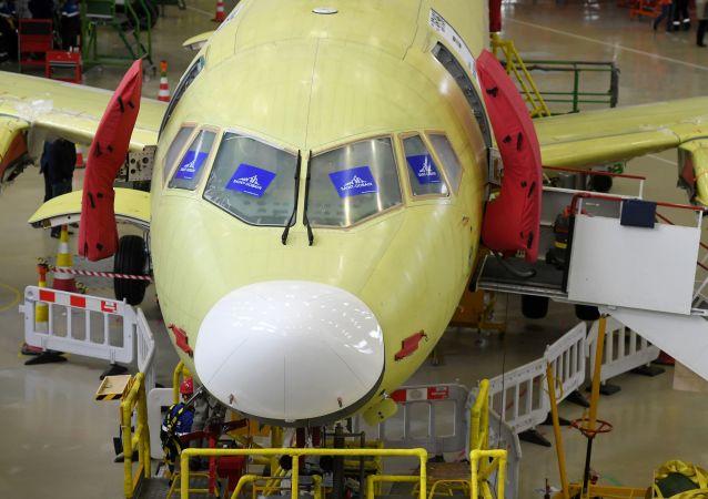 改进型苏霍伊超级喷气机100型客机将配备新型供电系统
