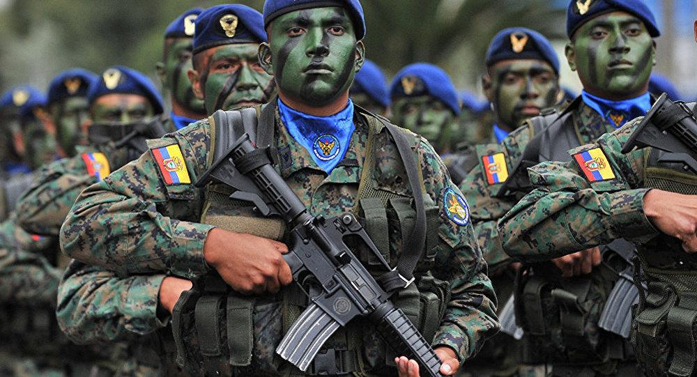 哥伦比亚军人