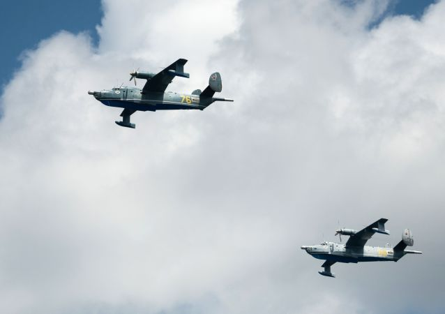 """俄罗斯正在建造""""海鸥-2""""等新一代地效飞行器"""