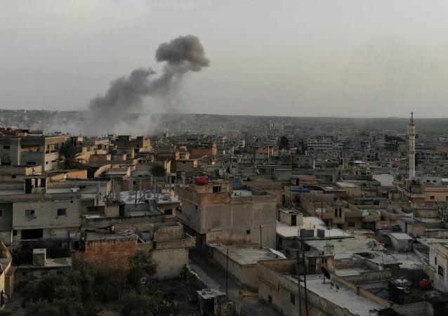 消息人士:俄谴责美国袭击叙利亚 资料图