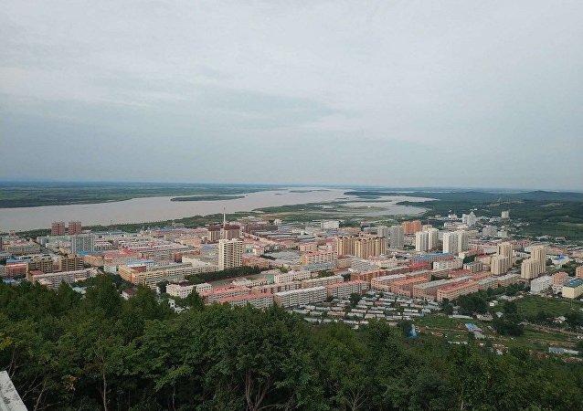 Вид города Фуюань