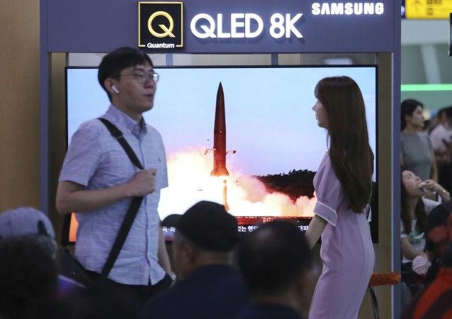 专家:朝鲜的新型潜射弹道导弹并非短程导弹