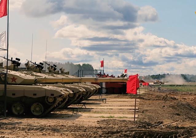 中国队将在阿拉比诺训练场检验96B坦克