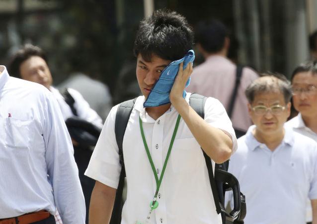 日本酷热致一周7人死亡逾 7000人中暑