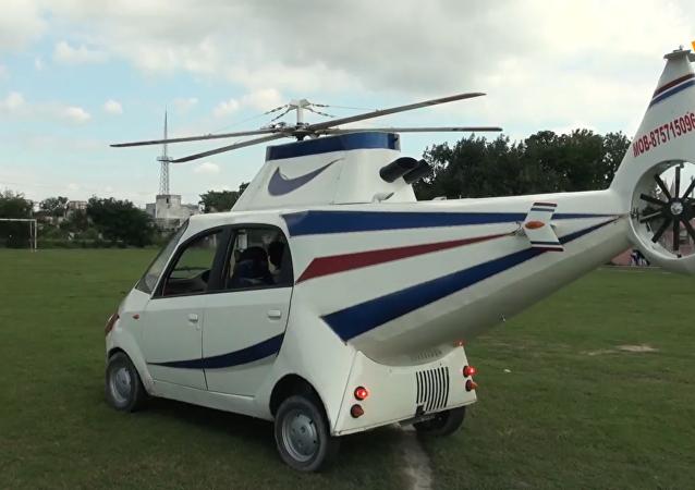 汽车直升机二合一