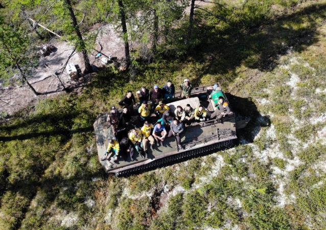 俄航空护林局:俄森林火灾面积一天内减半至4.4万公顷