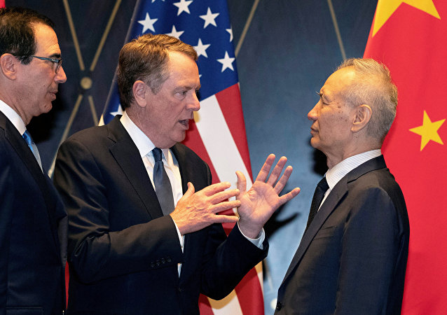 中美经贸高级别磋商双方牵头人