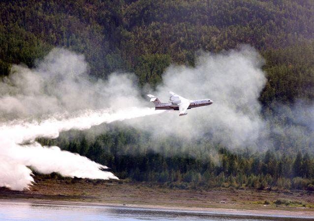 航空护林局:俄联邦林火面积一天内减少5.45万公顷