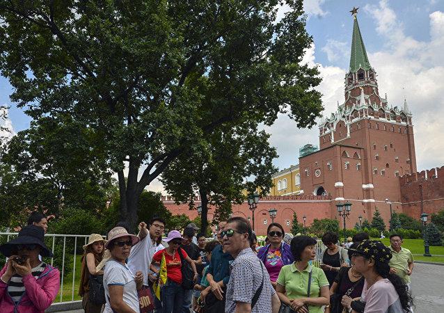 莫斯科旅游委员会:到访莫斯科的中国旅游团的游客数量已增长23%