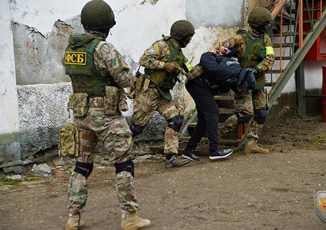 俄罗斯去年共逮捕40余名恐怖分子头目,241名普通恐怖分子和606名恐怖分子帮凶